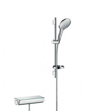 hansgrohe croma 100 bar shower 27034000 leigh plumbing. Black Bedroom Furniture Sets. Home Design Ideas