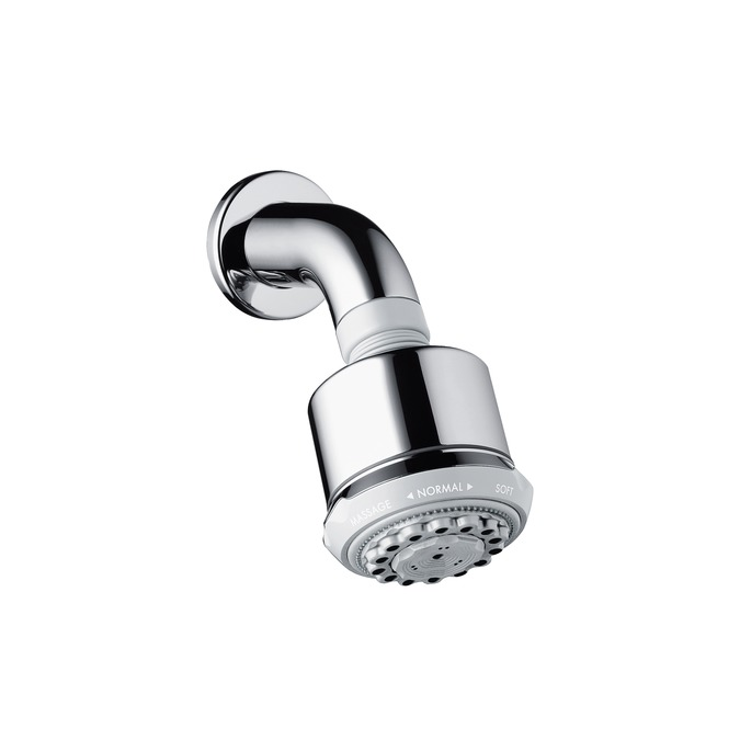 Clubmaster overhead shower with shower arm leigh plumbing merchants - Hansgrohe shower arm ...