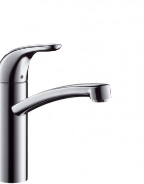 hansgrohe focus single lever kitchen mixer 280 with swivel. Black Bedroom Furniture Sets. Home Design Ideas