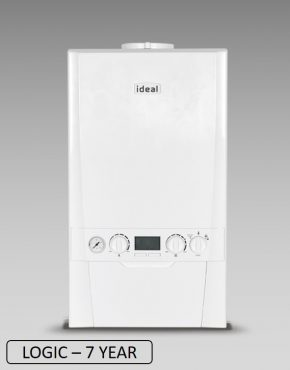 Ideal Logic + Combi Boiler & Flue