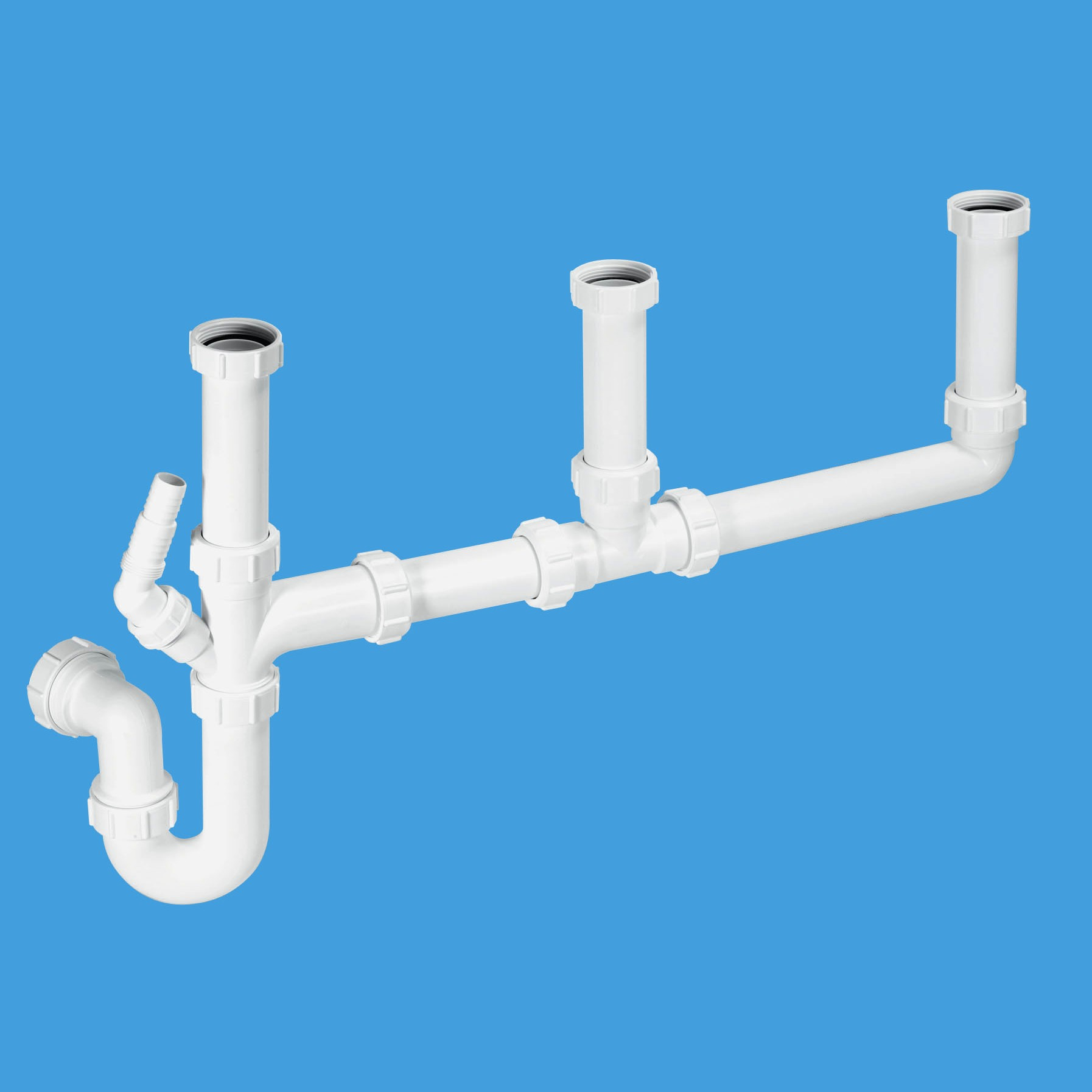 Mcalpine 1 189 Three Bowl Sink Kit With 1 Nozzle Sk3