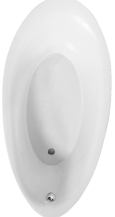 UBQ194AVE7V - oval 1900x950mm built-in