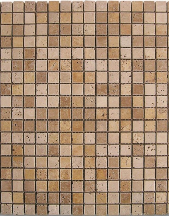 184997 MOSAICO TRAVERTINO DADOS D688 1