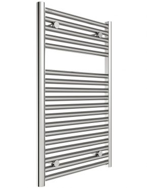 Hugo2 Series Heated Towel Rail 1652x600mm Leigh Plumbing